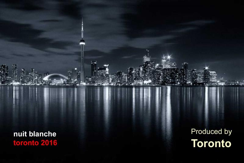 nuit blanche Toronto 2016